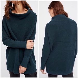 nwt // free people ottoman slouchy tunic